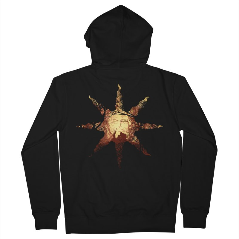 Praise the Sun Women's Zip-Up Hoody by Donnie's Artist Shop