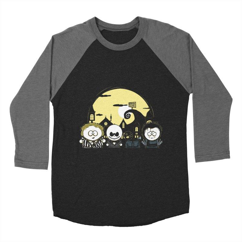 Burton Park Men's Baseball Triblend T-Shirt by Donnie's Artist Shop