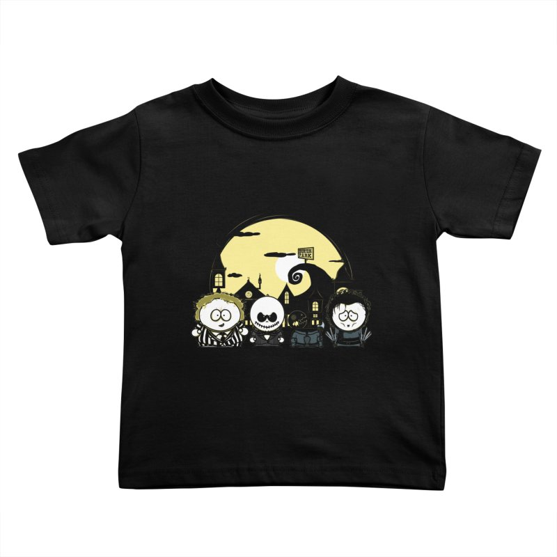 Burton Park Kids Toddler T-Shirt by Donnie's Artist Shop