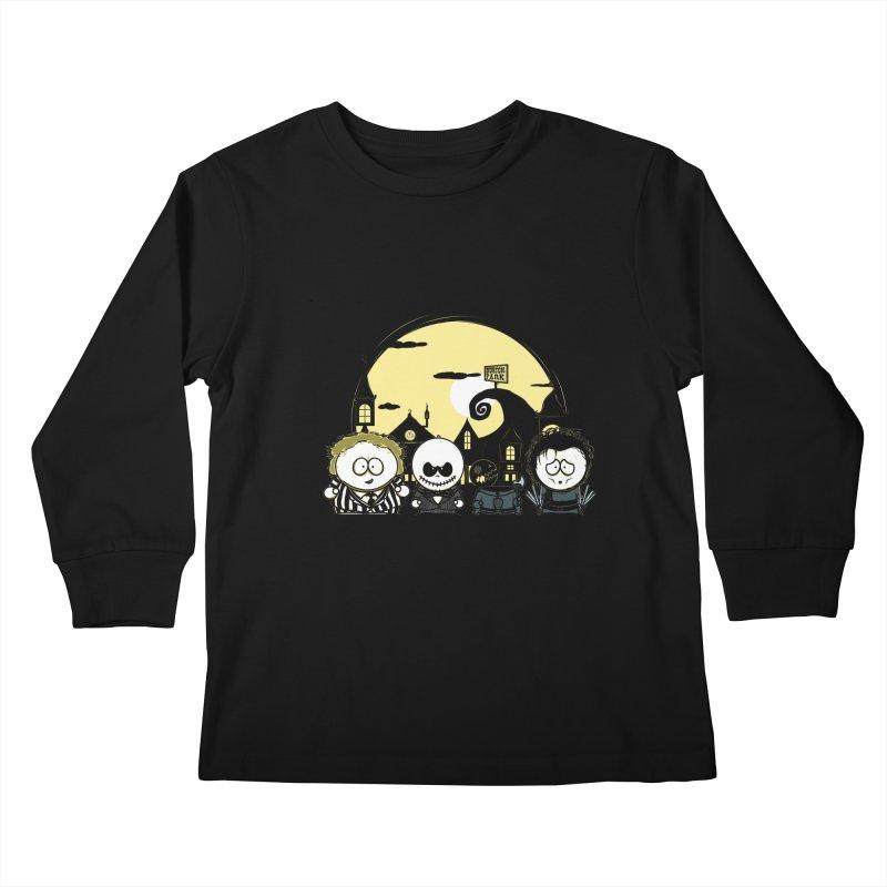 Burton Park Kids Longsleeve T-Shirt by Donnie's Artist Shop