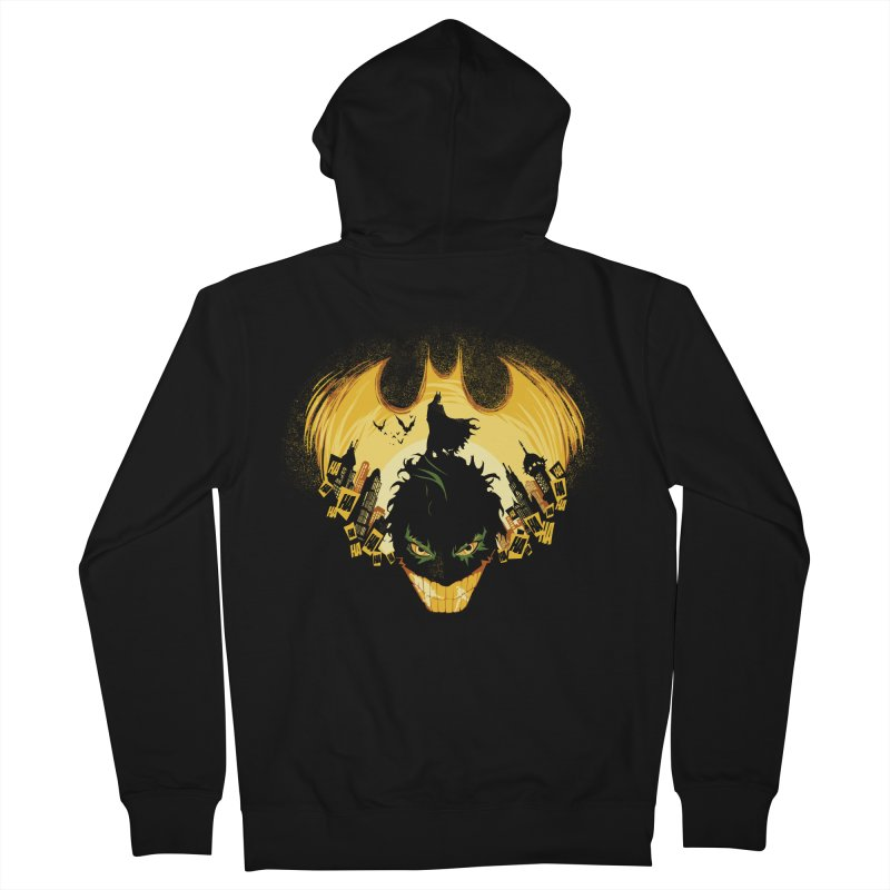 The Dark Knightmare Women's Zip-Up Hoody by Donnie's Artist Shop