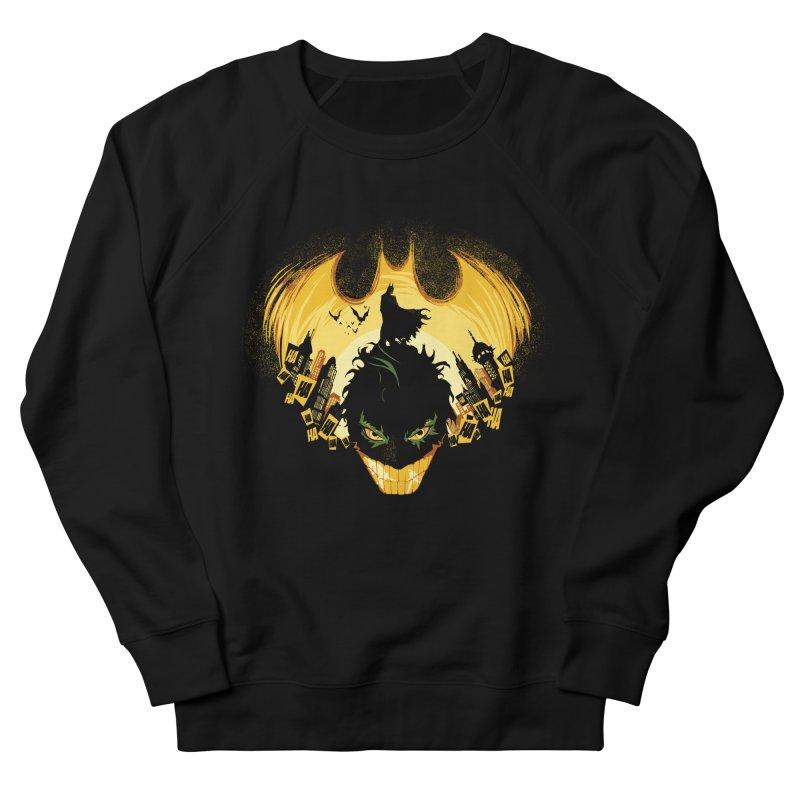 The Dark Knightmare Men's Sweatshirt by Donnie's Artist Shop
