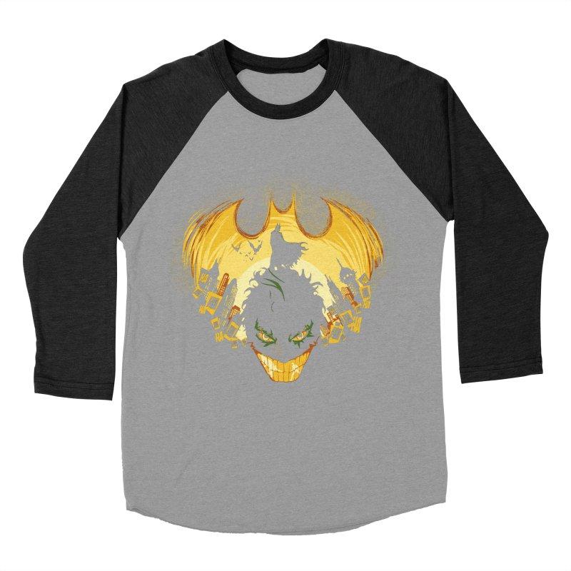 The Dark Knightmare Men's Baseball Triblend T-Shirt by Donnie's Artist Shop