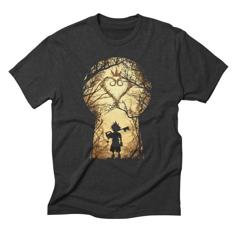 My Kingdom Men's Triblend T-Shirt by Donnie's Artist Shop
