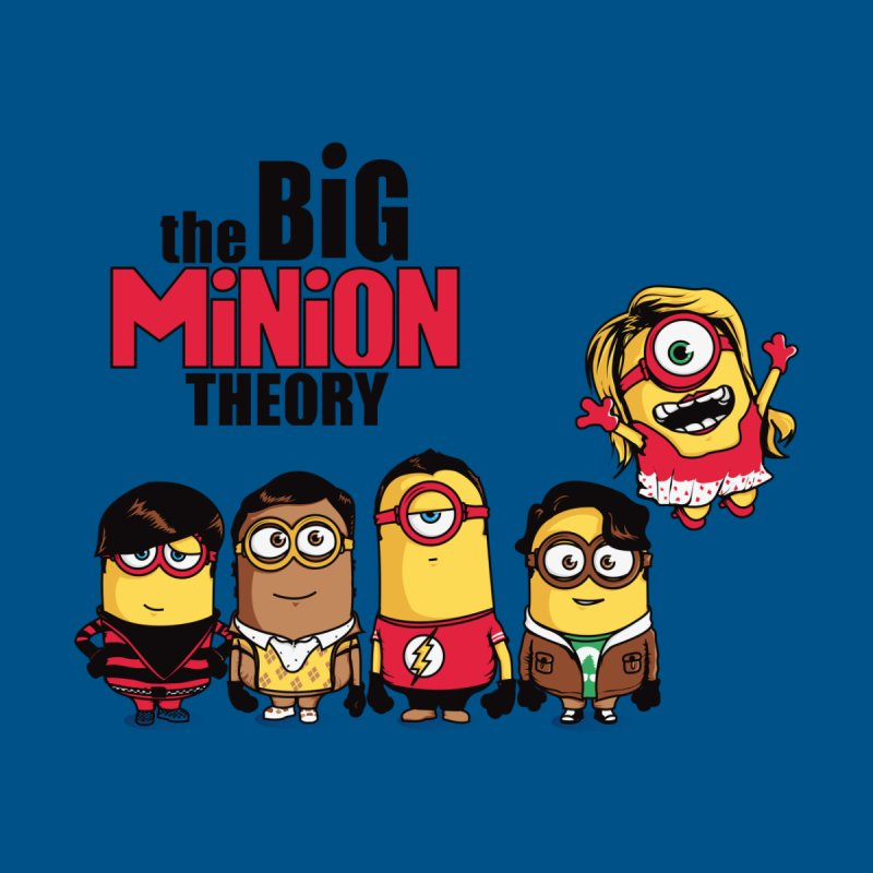 The Big Minion Theory None  by Donnie's Artist Shop