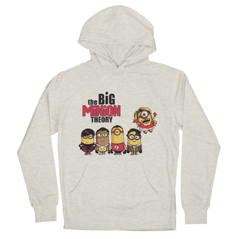 The Big Minion Theory Women's Pullover Hoody by Donnie's Artist Shop