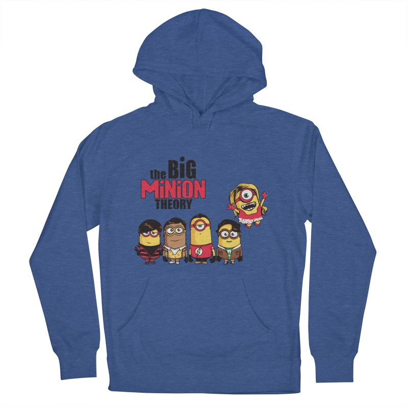The Big Minion Theory Men's Pullover Hoody by Donnie's Artist Shop