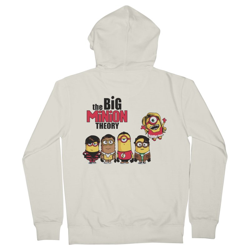 The Big Minion Theory Women's Zip-Up Hoody by Donnie's Artist Shop