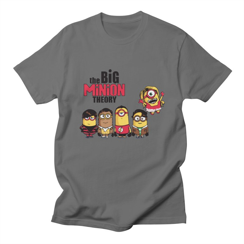 The Big Minion Theory Men's T-shirt by Donnie's Artist Shop