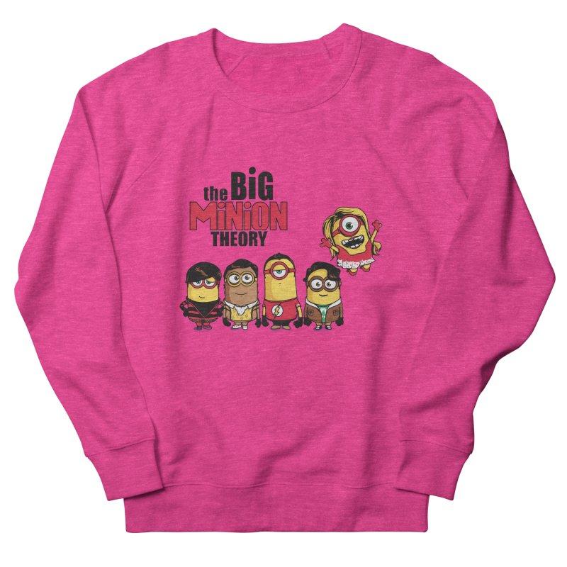 The Big Minion Theory Women's Sweatshirt by Donnie's Artist Shop