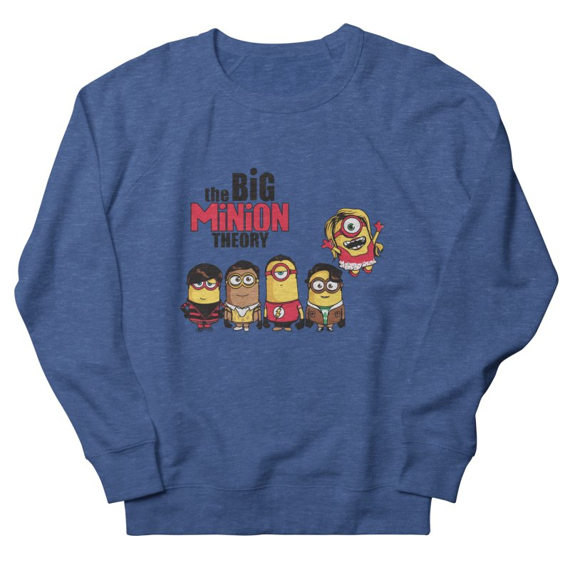 The Big Minion Theory Men's Sweatshirt by Donnie's Artist Shop