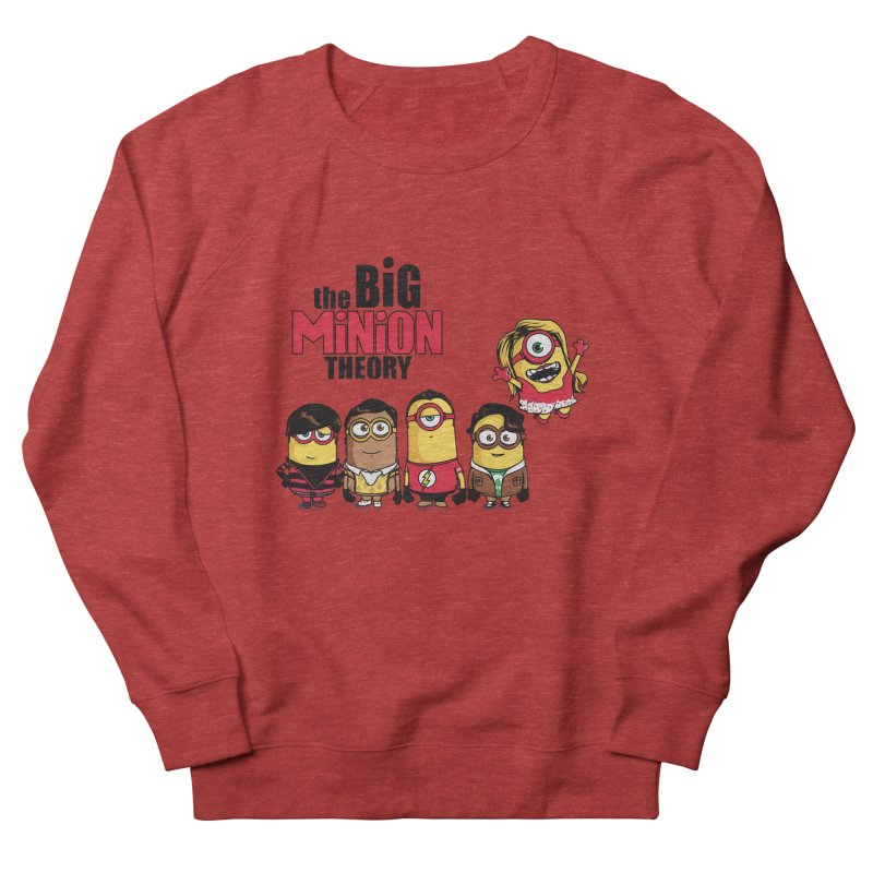 The Big Minion Theory Men's Sweatshirt by Donnie's Artist Shop