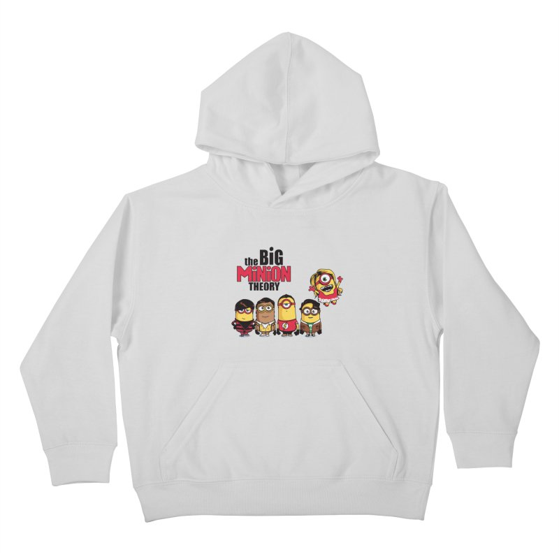 The Big Minion Theory Kids Pullover Hoody by Donnie's Artist Shop