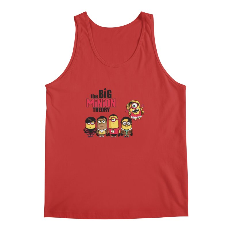 The Big Minion Theory Men's Tank by Donnie's Artist Shop