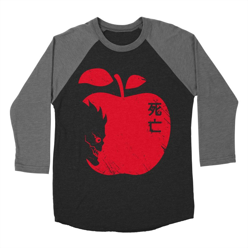Apple of the Death Women's Baseball Triblend T-Shirt by Donnie's Artist Shop