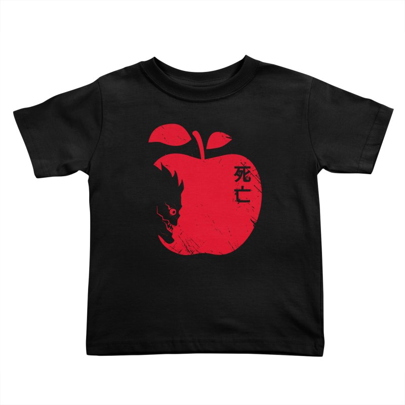Apple of the Death Kids Toddler T-Shirt by Donnie's Artist Shop