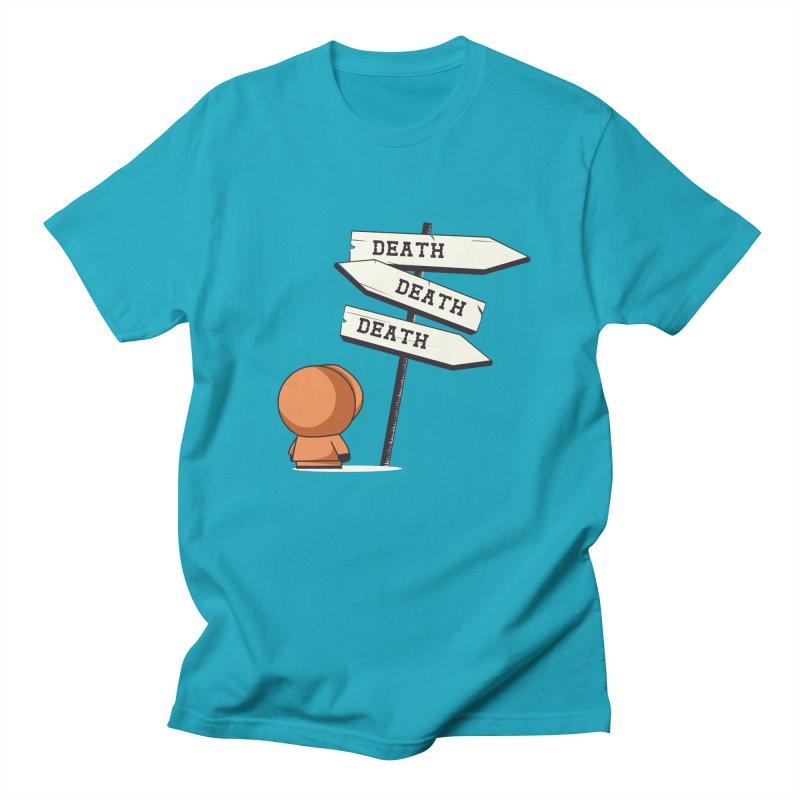 Deathtiny Men's T-Shirt by Donnie's Artist Shop