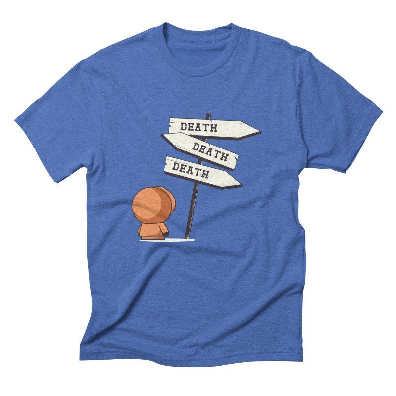 Deathtiny Men's Triblend T-shirt by Donnie's Artist Shop