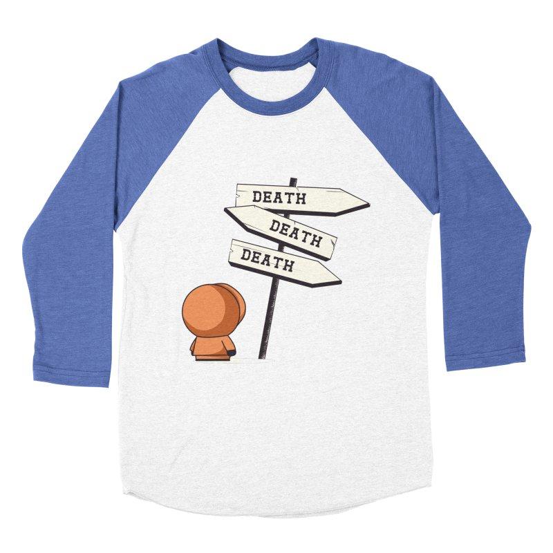 Deathtiny Women's Baseball Triblend T-Shirt by Donnie's Artist Shop