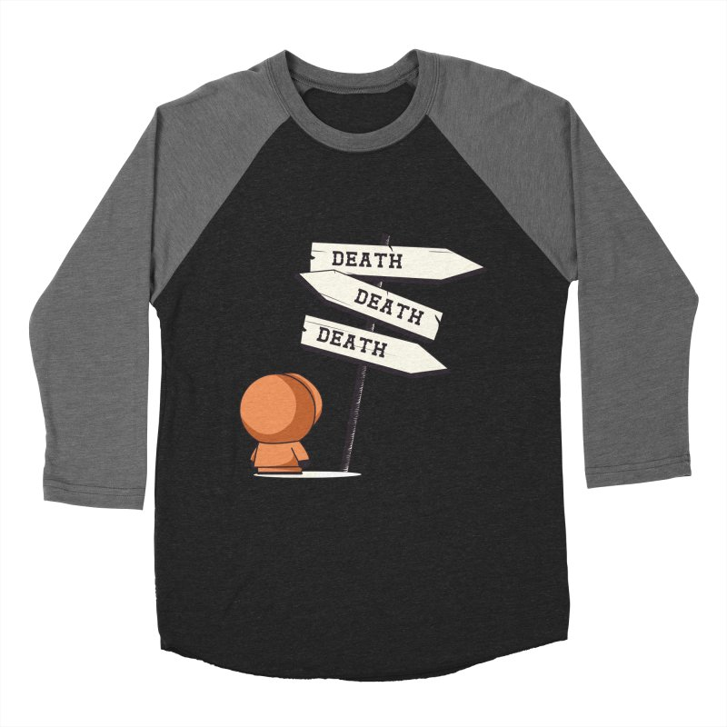 Deathtiny Men's Baseball Triblend T-Shirt by Donnie's Artist Shop