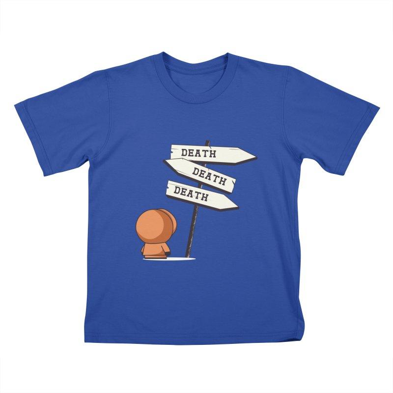 Deathtiny Kids T-shirt by Donnie's Artist Shop
