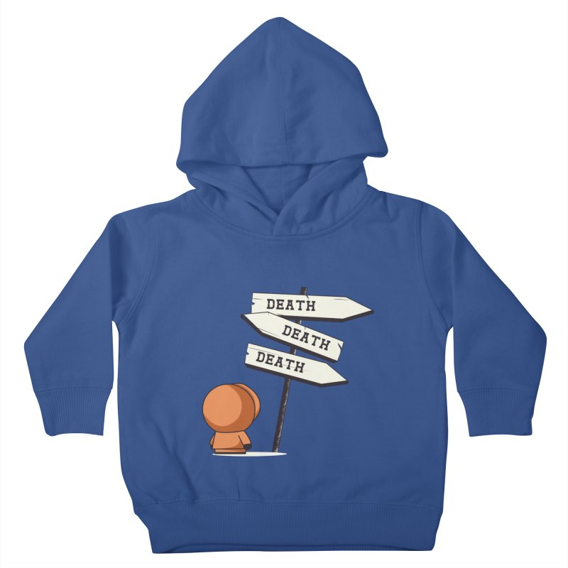 Deathtiny Kids Toddler Pullover Hoody by Donnie's Artist Shop