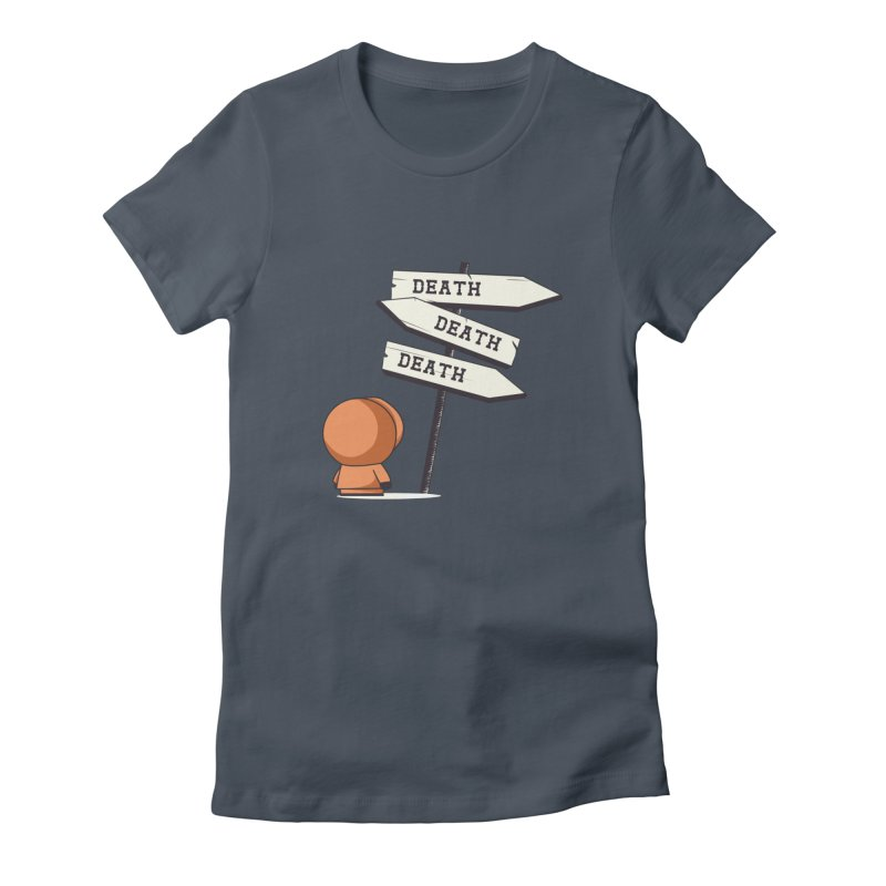 Deathtiny Women's T-Shirt by Donnie's Artist Shop