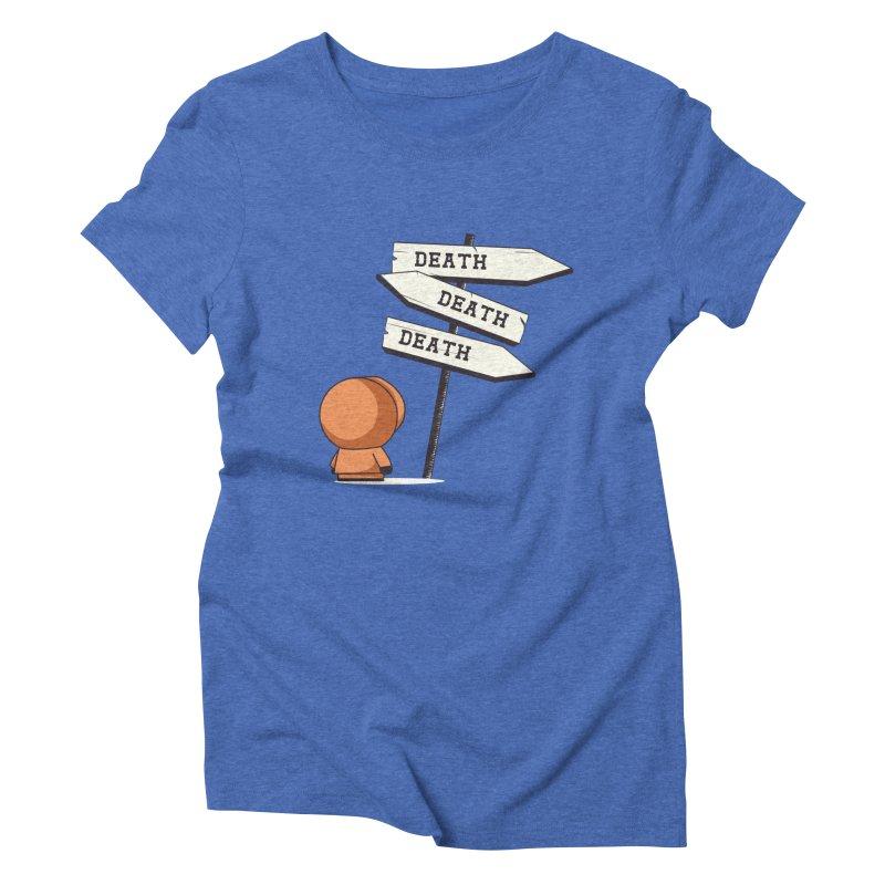 Deathtiny Women's Triblend T-Shirt by Donnie's Artist Shop