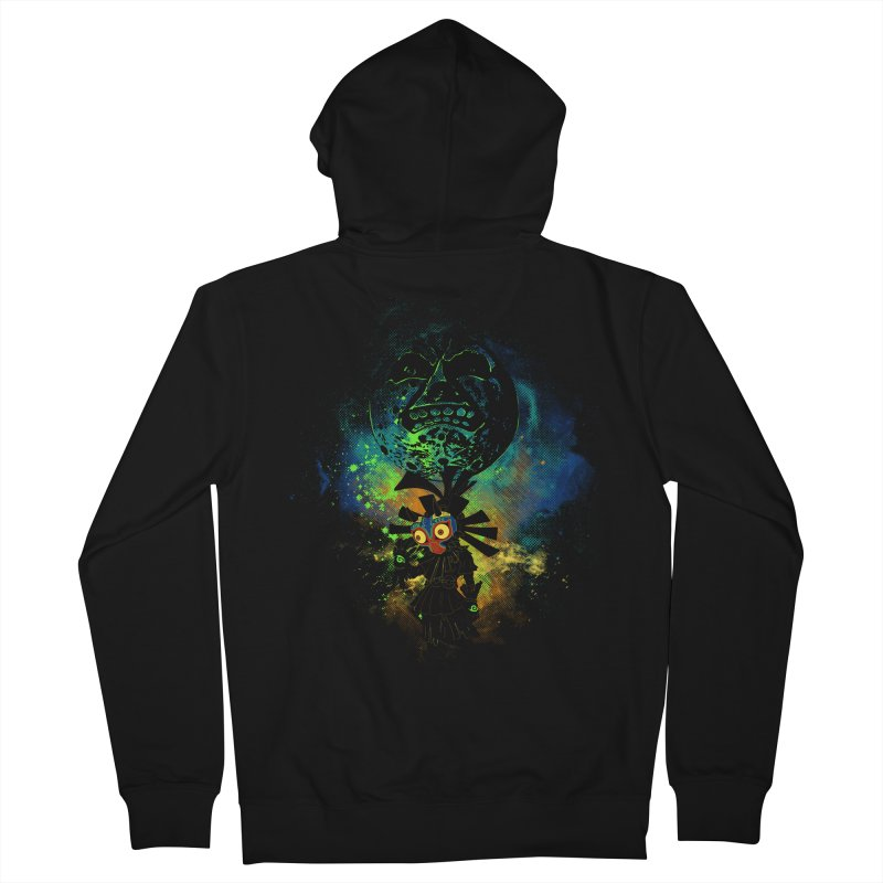 Majora's Mask Women's Zip-Up Hoody by Donnie's Artist Shop
