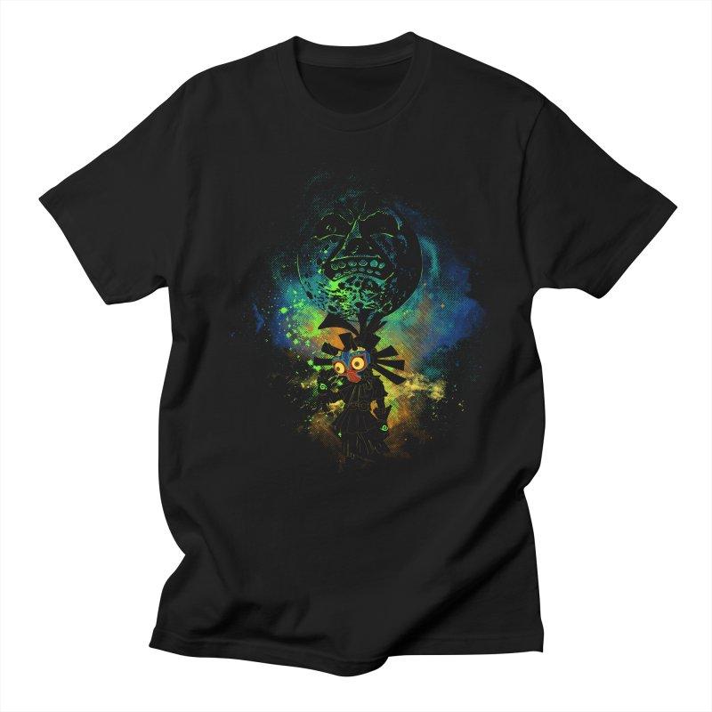 Majora's Mask Men's T-shirt by Donnie's Artist Shop