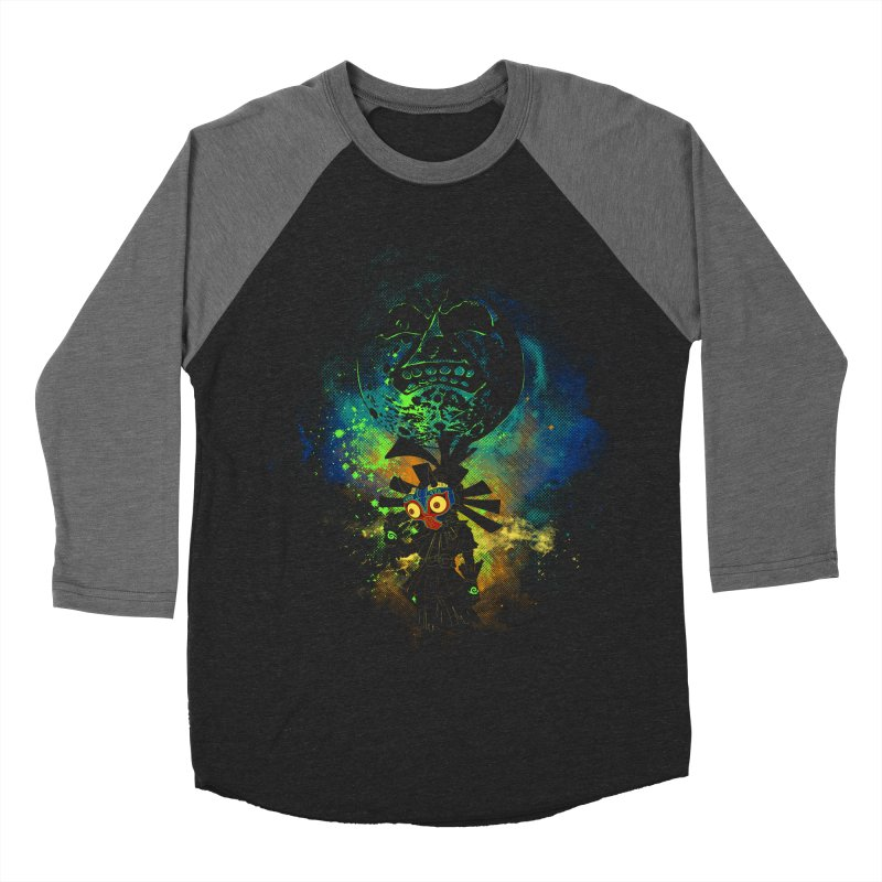 Majora's Mask Women's Baseball Triblend T-Shirt by Donnie's Artist Shop