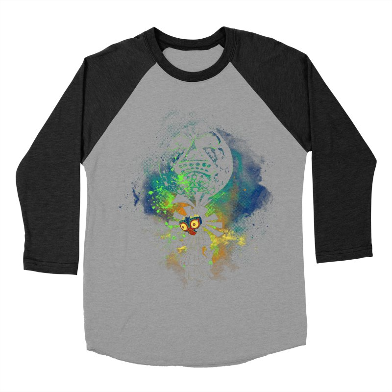Majora's Mask Men's Baseball Triblend T-Shirt by Donnie's Artist Shop