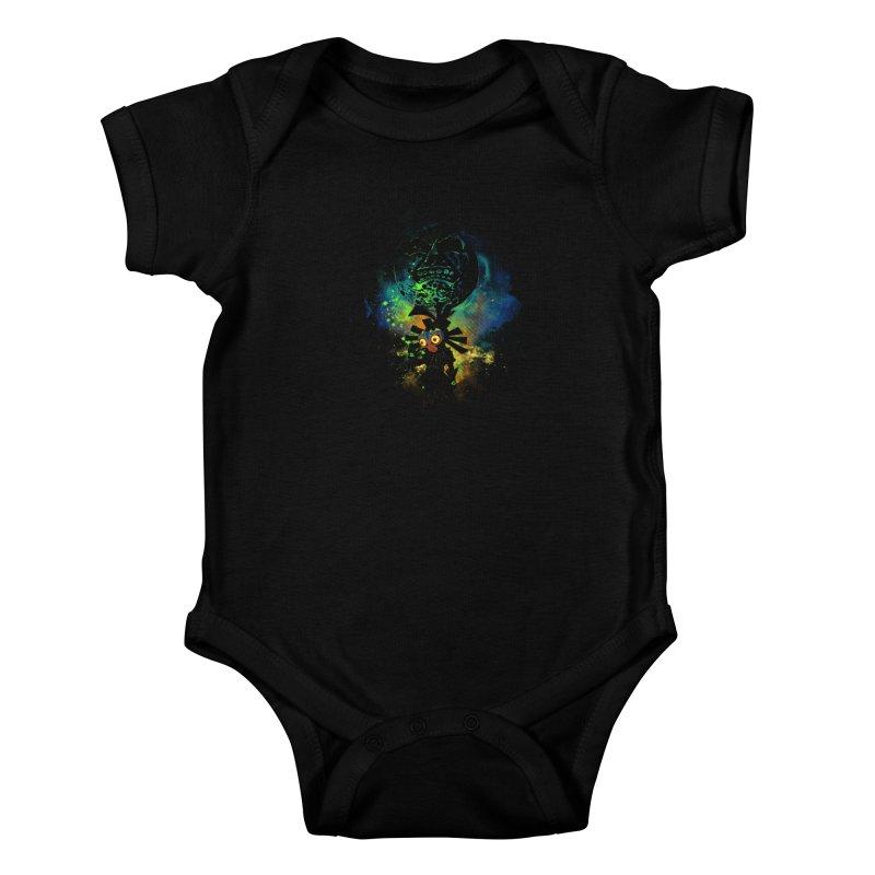 Majora's Mask Kids Baby Bodysuit by Donnie's Artist Shop