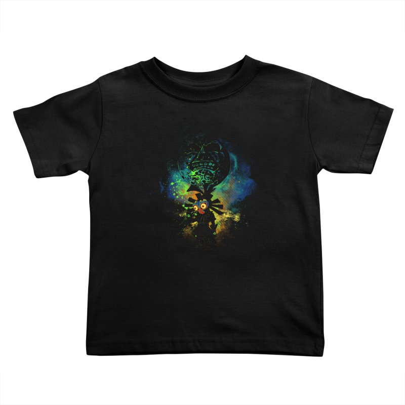 Majora's Mask Kids Toddler T-Shirt by Donnie's Artist Shop