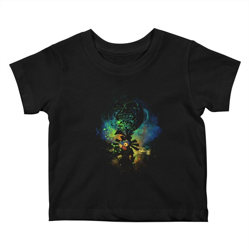 Majora's Mask Kids Baby T-Shirt by Donnie's Artist Shop