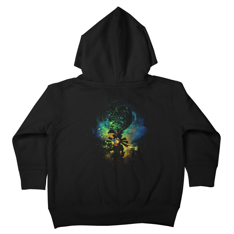 Majora's Mask Kids Toddler Zip-Up Hoody by Donnie's Artist Shop