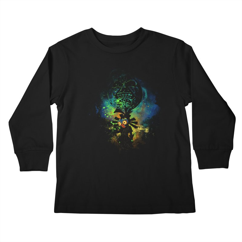 Majora's Mask Kids Longsleeve T-Shirt by Donnie's Artist Shop