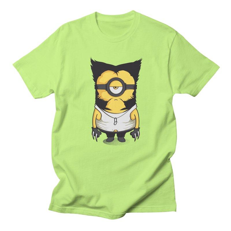 Wolvenion Men's T-shirt by Donnie's Artist Shop
