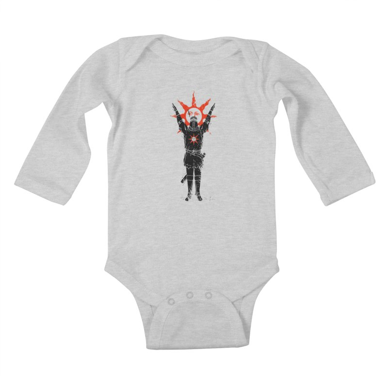 Traditional Solarius Kids Baby Longsleeve Bodysuit by Donnie's Artist Shop