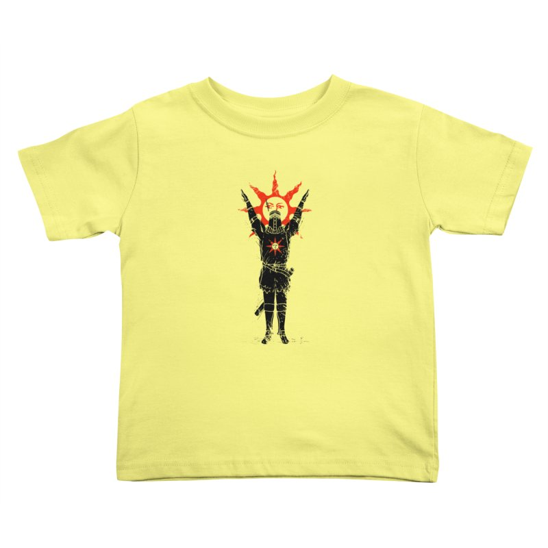 Traditional Solarius Kids Toddler T-Shirt by Donnie's Artist Shop