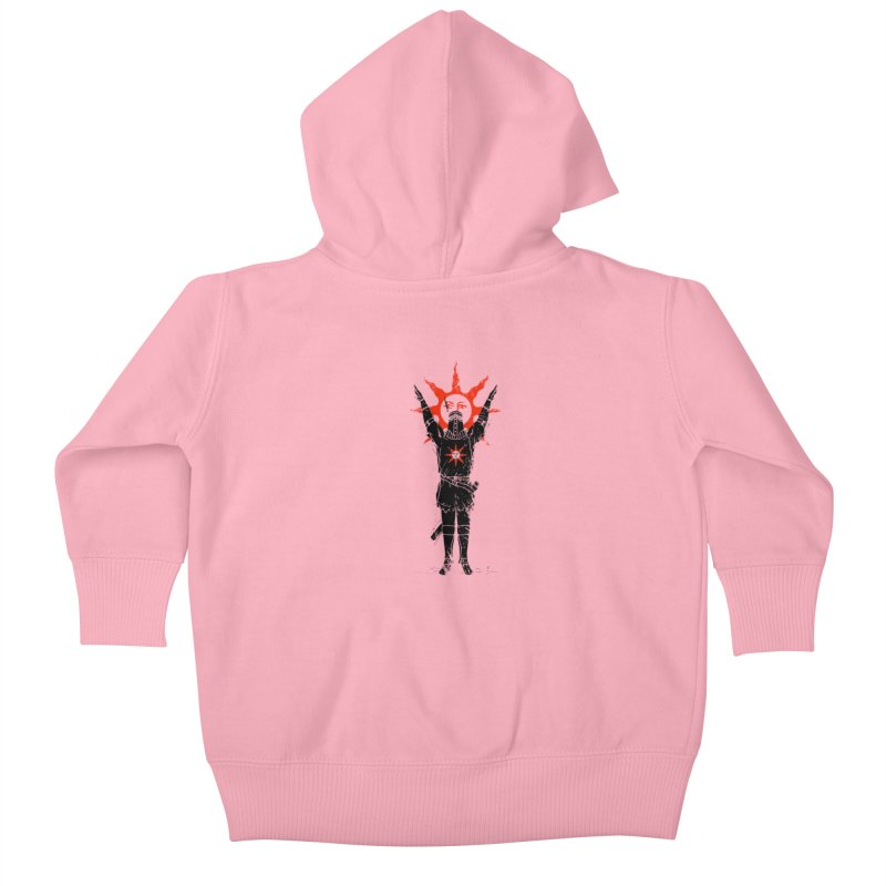 Traditional Solarius Kids Baby Zip-Up Hoody by Donnie's Artist Shop