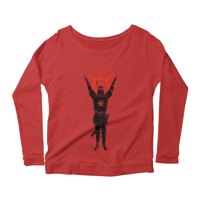 Traditional Solarius Women's Longsleeve Scoopneck  by Donnie's Artist Shop