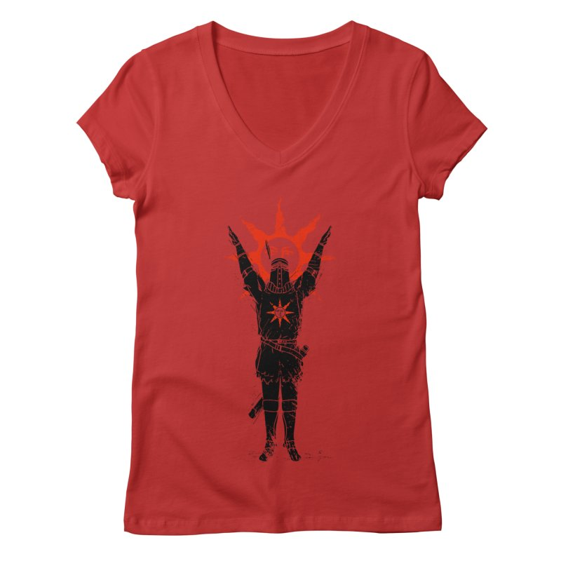 Traditional Solarius Women's V-Neck by Donnie's Artist Shop