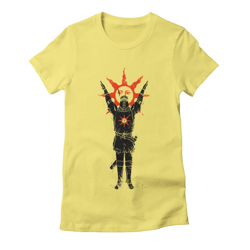 Traditional Solarius Women's Fitted T-Shirt by Donnie's Artist Shop