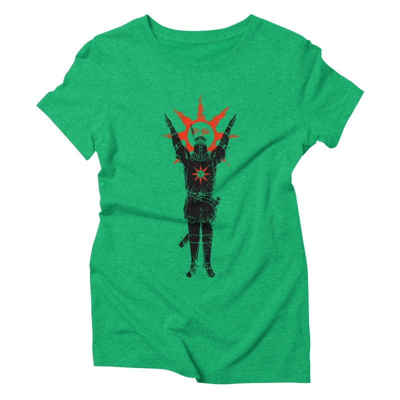 Traditional Solarius Women's Triblend T-shirt by Donnie's Artist Shop