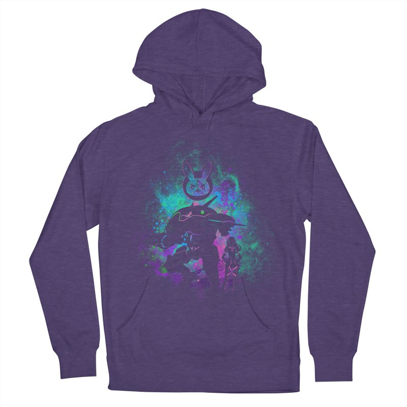 Nerf this Art Men's French Terry Pullover Hoody by Donnie's Artist Shop