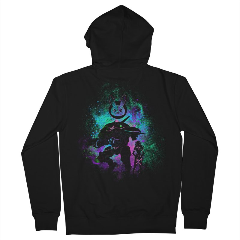 Nerf this Art Women's French Terry Zip-Up Hoody by Donnie's Artist Shop
