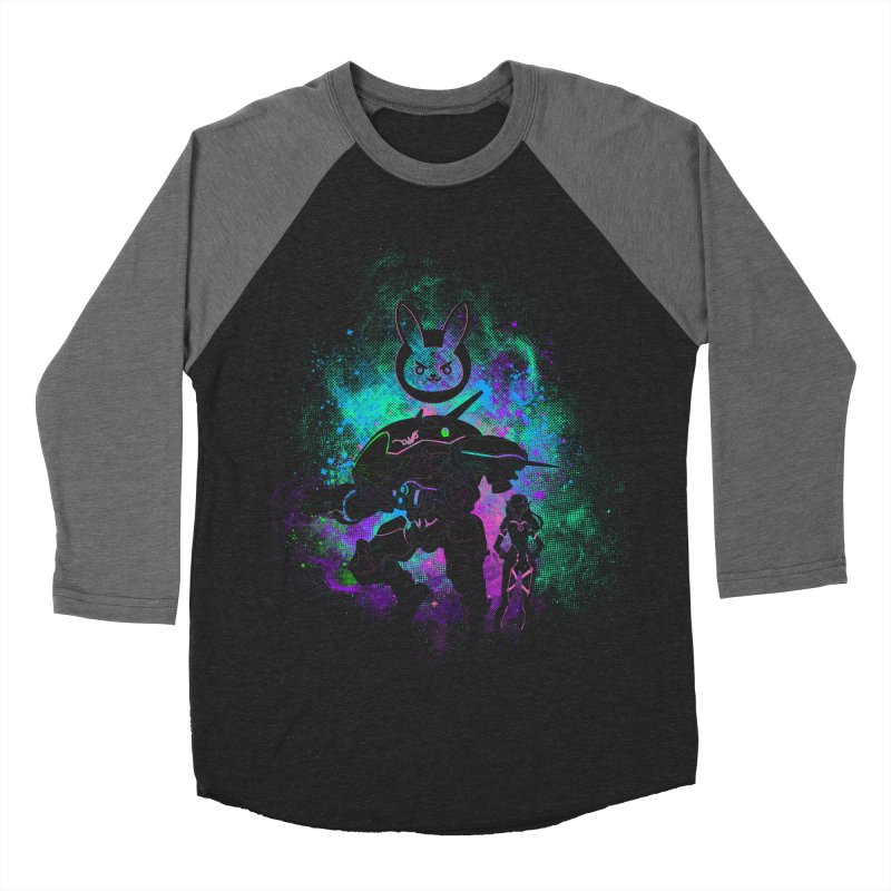Nerf this Art Men's Baseball Triblend Longsleeve T-Shirt by Donnie's Artist Shop