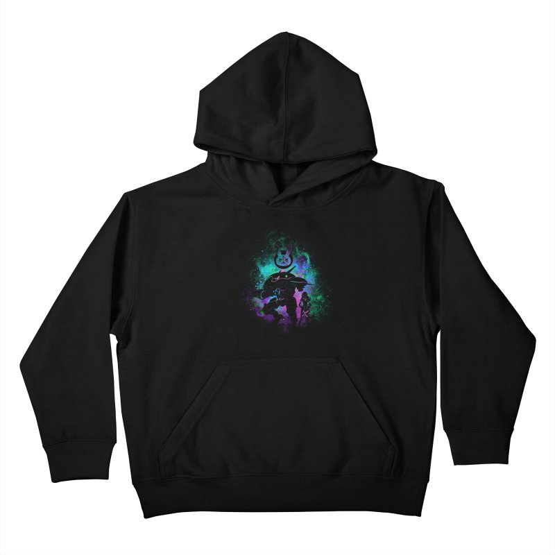 Nerf this Art Kids Pullover Hoody by Donnie's Artist Shop