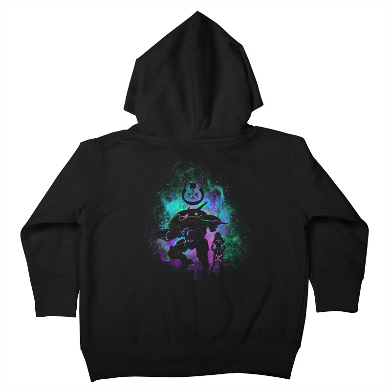 Nerf this Art Kids Toddler Zip-Up Hoody by Donnie's Artist Shop